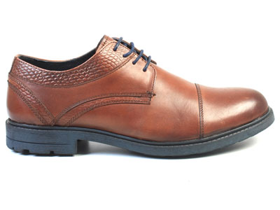 7635075ec туфли мужские Airbox, Мужской, коричневый, натуральная кожа, 136488 ...